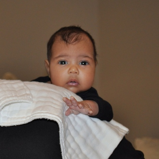 Kanye West Releases Daughter's First Picture