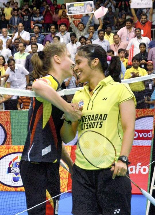 Hyderabad Hotshots In IBL Final