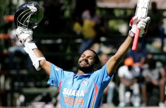 Shikhar Dhawan Narrowly Misses World Record