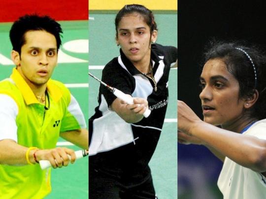 Sindhu, Saina, Kashyap Enter Quarters