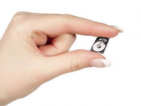 smaller hard drive