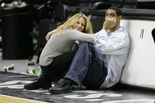 Spurs's Tim Duncan Gets Divorced