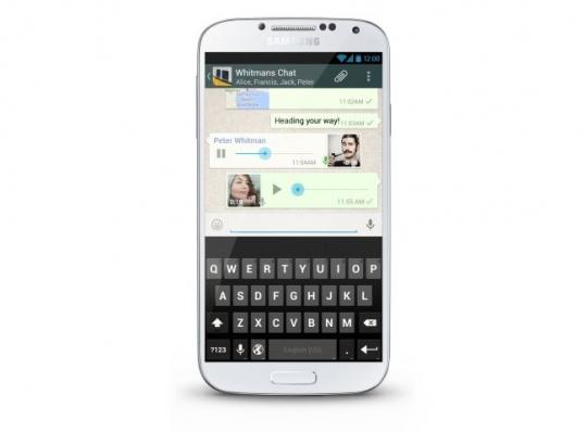 Whatsapp Voice Messaging