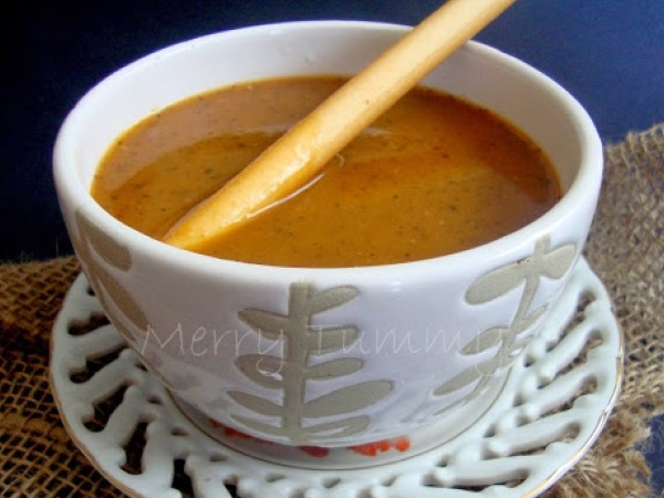 Soup Recipe: Warm Roasted Tomato Garlic Soup Recipe