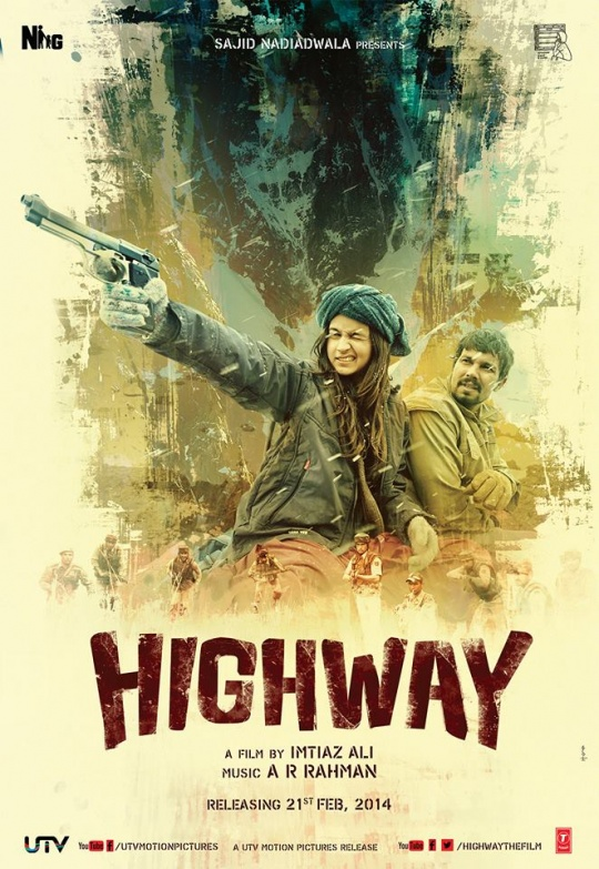 Alia Bhatt and Randeep Hooda in Highway