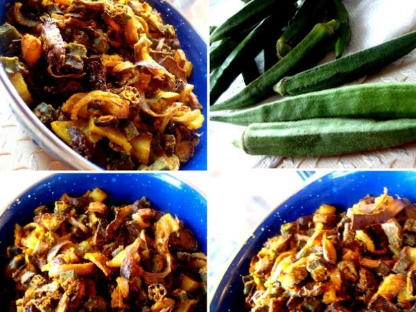 Healthy Meals: Roasted Bhindi Recipe