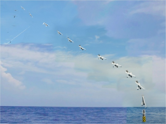 US Navy Launches UAV from Submarine