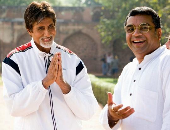 Amitabh Bachchan, Paresh Rawal