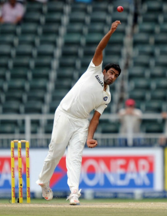 Ravichandran Ashwin failed to get a wicket in 44 overs in the first Test in Johannesburg. (AFP)