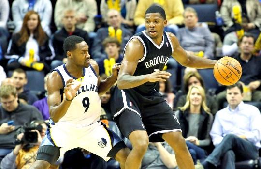 Brooklyn Nab Needed Win in Memphis