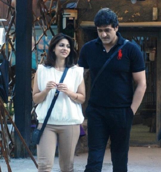 Armaan Kohli and Tanisha Mukherjee in the Bigg Boss house
