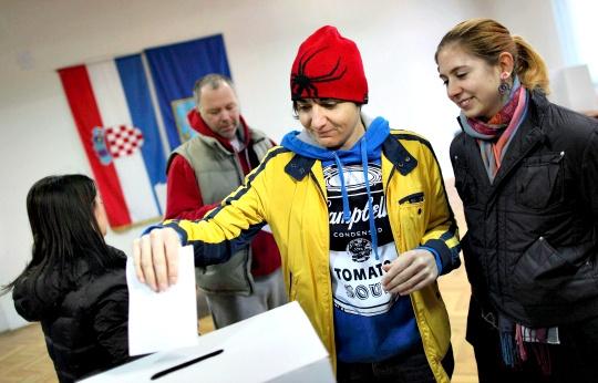 Croatians Vote Against Same-Sex Marriage