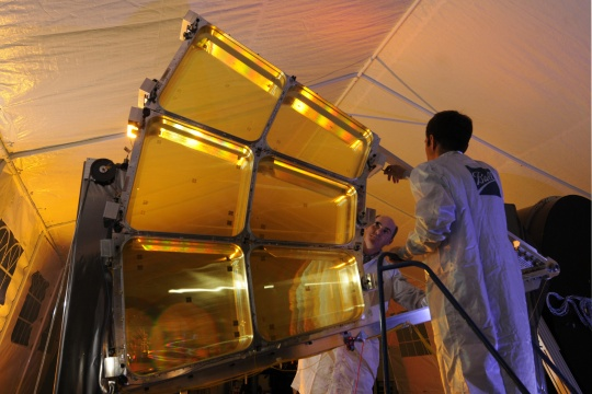 DARPA's Giant Folding Space Telescope