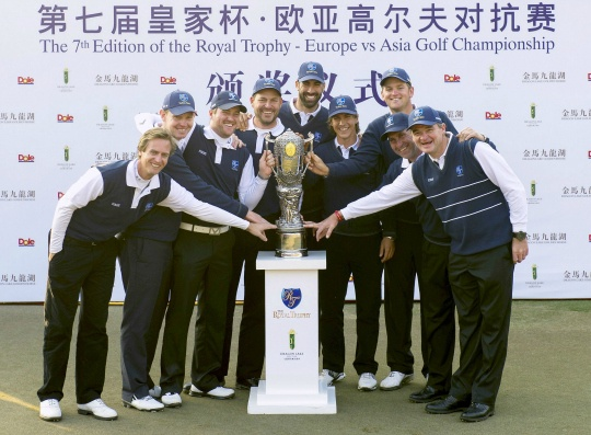 Europe Snatch Royal Trophy Victory