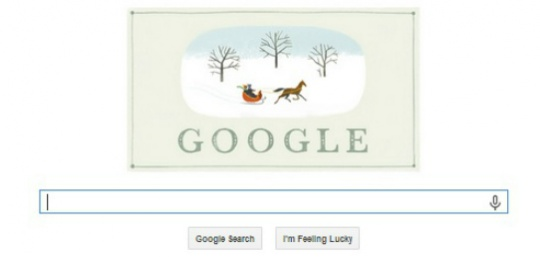 Google Wishes 'Happy Holidays' With A Doodle