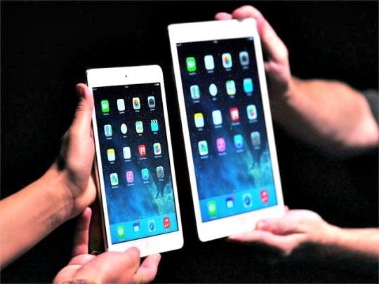 iPad Air, iPad Mini Retina