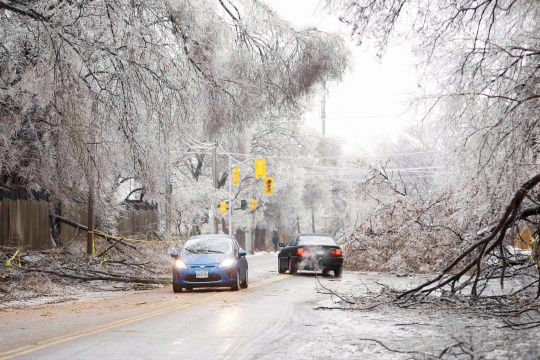 Ice Storm Leaves 370,000 Without Power in US