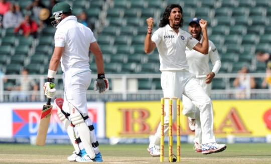Ishant Sharma picked up three for 64 on Day Two. (Photo: AFP)