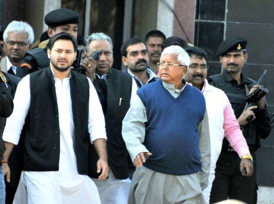 Lalu Walks Out of Jail, Vows to Take on Modi