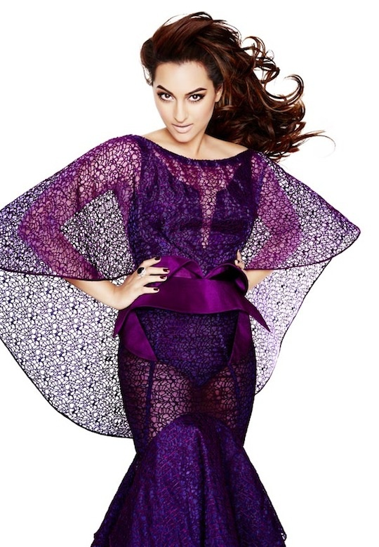 Sonakshi sizzles in L'Officiel India's December issue