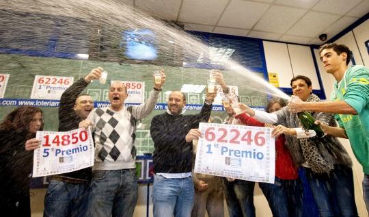 Spain Holds $3.4 Billion Christmas Lottery