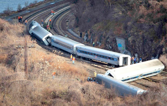 Metro-North Train Derails in New York