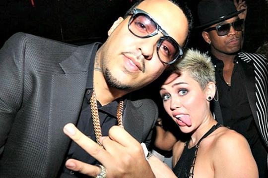 Miley Cyrus, French Montana