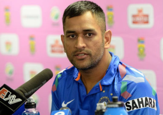 MS Dhoni said that the middle-order was exposed after the top-three failed to score enough runs. (Photo: Getty Images)