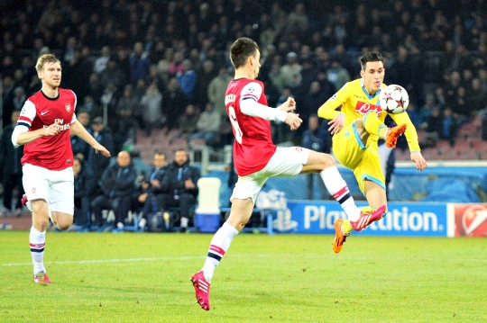 Napoli Miss Out Despite Beating Arsenal