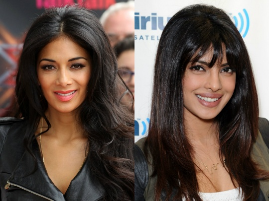 Priyanka Chopra and Nicole Sherzinger