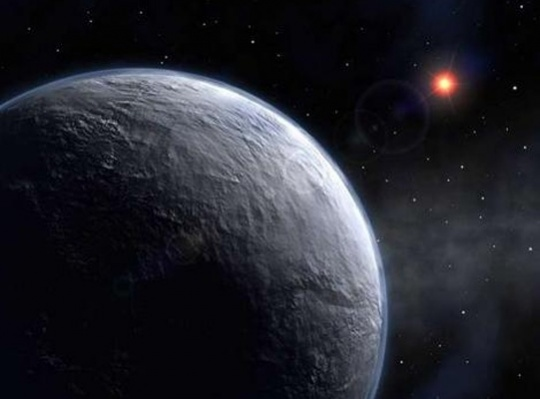 Most Distant Orbiting Planet Discovered