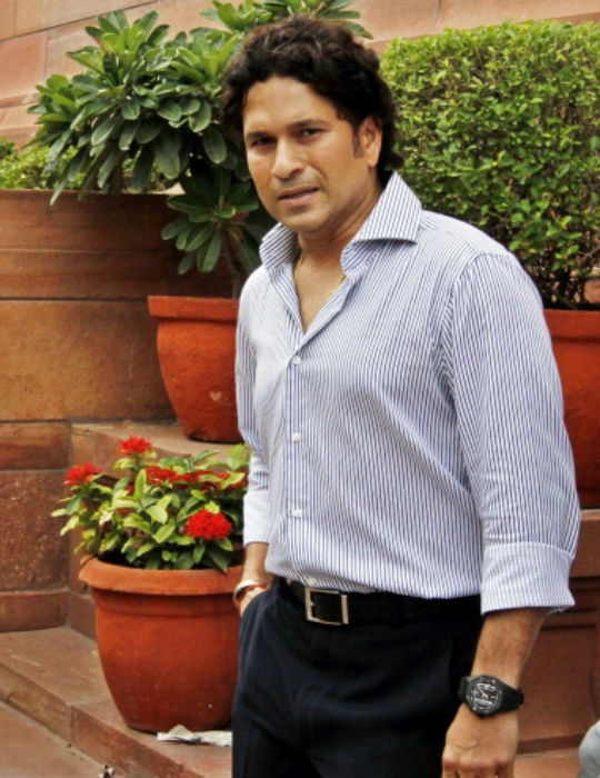 Sachin Tendulkar attended the first Winter Session of the Parliament on Friday. (Photo: Getty Images)