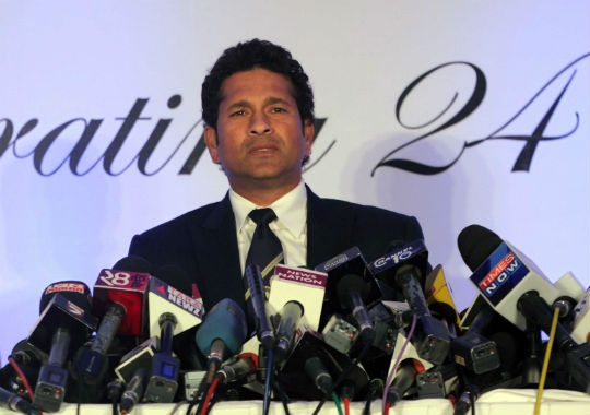 After nearly a quarter of a century of cricket, Tendulkar bade an emotional adieu to international cricket after playing his 200th Test against West Indies in Mumbai last month.(Photo: Getty Images)