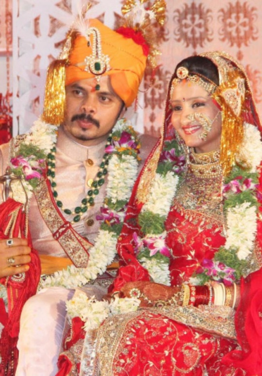 Sreesanth's Wedding Reception