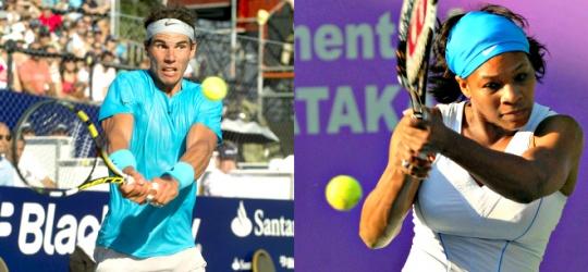 Rafael Nadal, Serena Williams