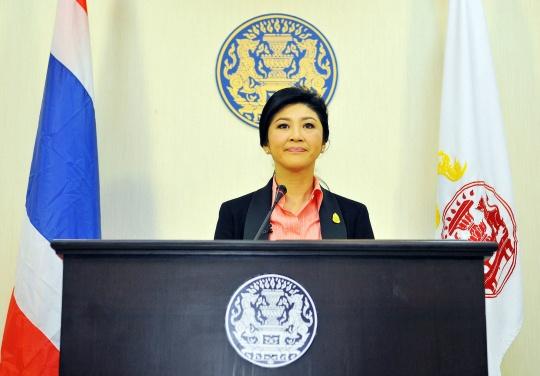 Thai Prime Minister Yingluck Shinawatra