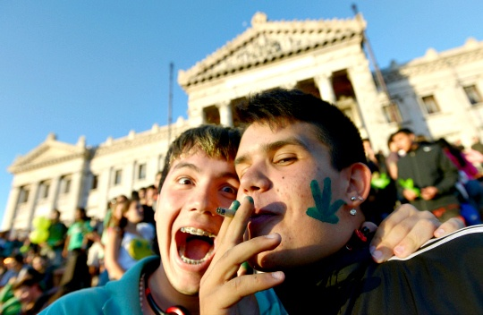 Uruguay's Senate Legalizes Marijuana