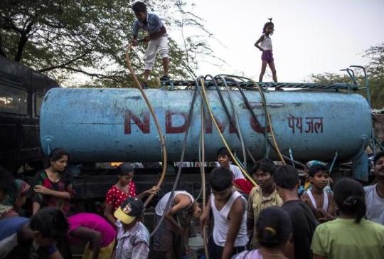 Water Shortage Delhi
