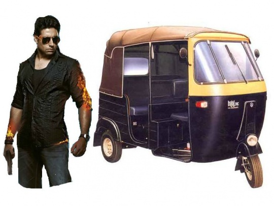 Abhishek Bachchan To Perform Stunts In A Rickshaw In Dhoom 3