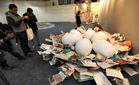 Haute Book Art on Display at World Book Fair