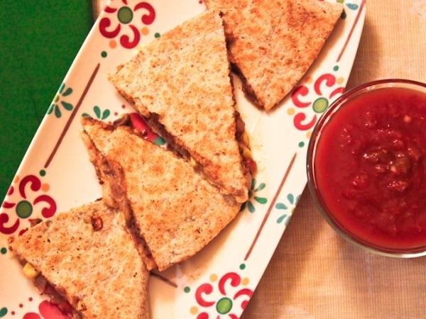 Healthy Recipe: Black Bean and Pepper Jack Quesadillas