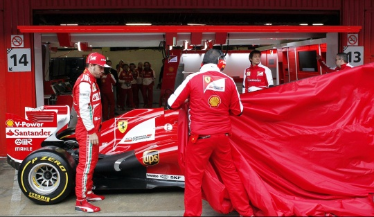 Alonso Happy With New Ferrari on Track Return