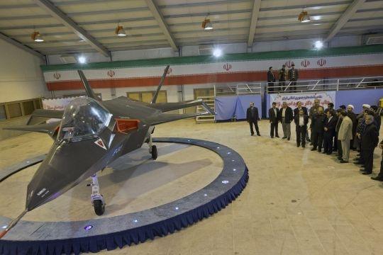Iran Unveils Home-made Jet 'Qaher'