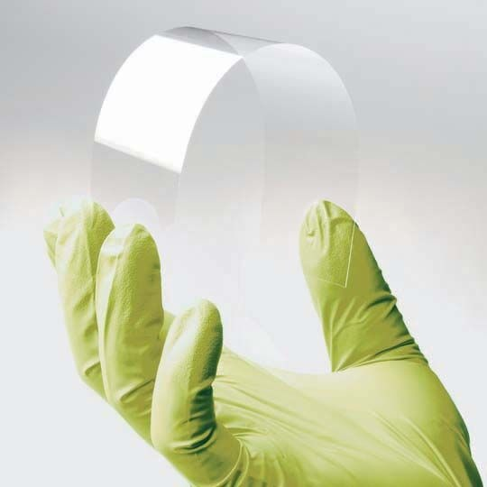 bendable glass