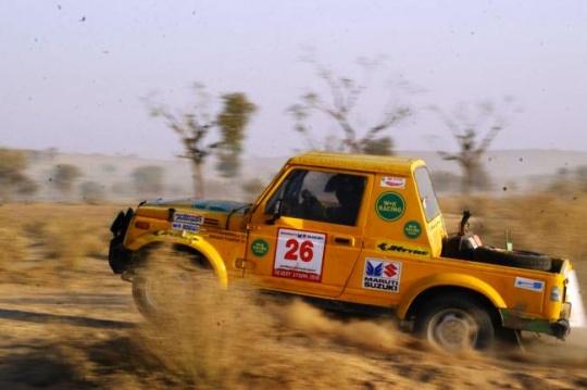 Desert Storm Rally to Flag Off on February 18