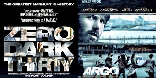Zero Dark Thirty and Argo