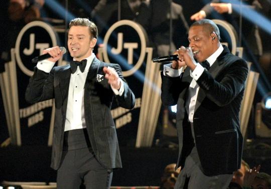 Justin Timberlake and Jay Z