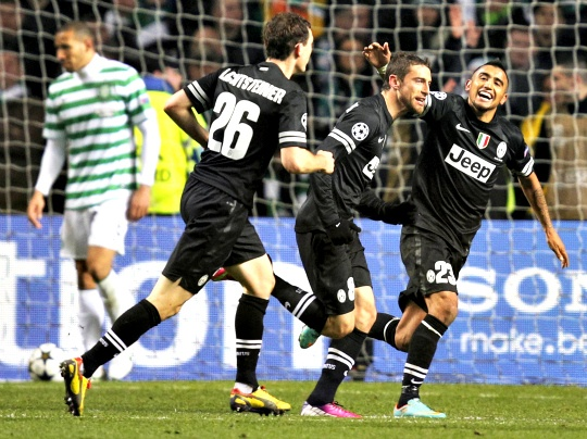 Juve Win 3-0 to Deflate Dominant Celtic