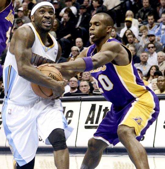 Lawson Lifts Nuggets Past LA Lakers
