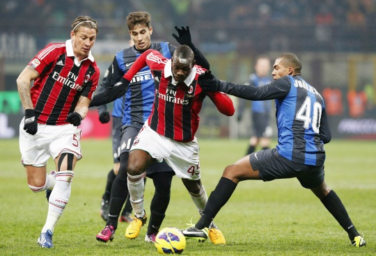 Inter Milan Play Out Draw with AC Milan